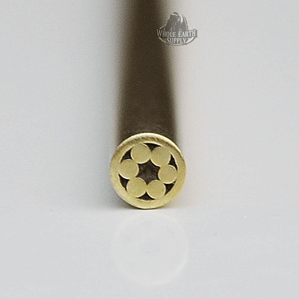 BlanksAndBlades com - 1/8 inch Mosaic Pin #01 Pins Knife Handle